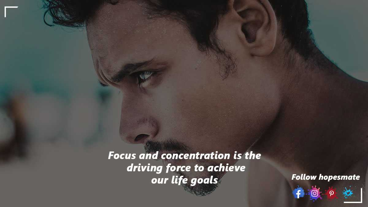 improve your focus and concentration