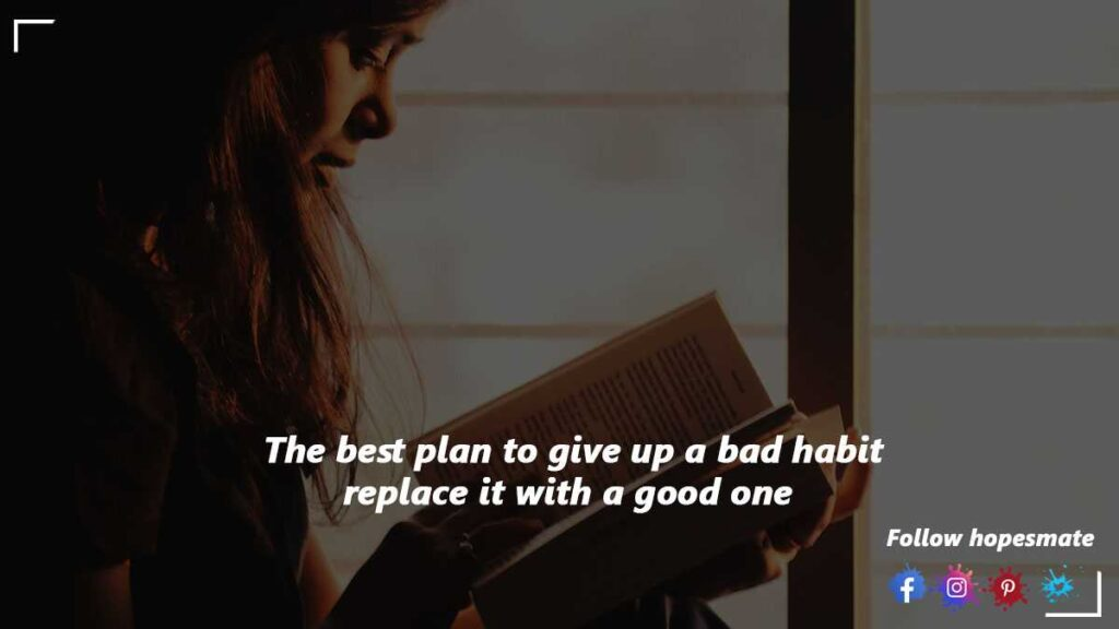 give up a bad habit