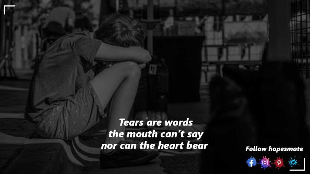 cry, if it make you feel good
