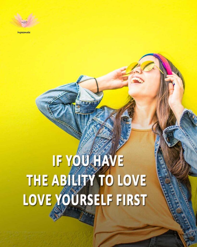love yourself first- best self-love quotes for girls