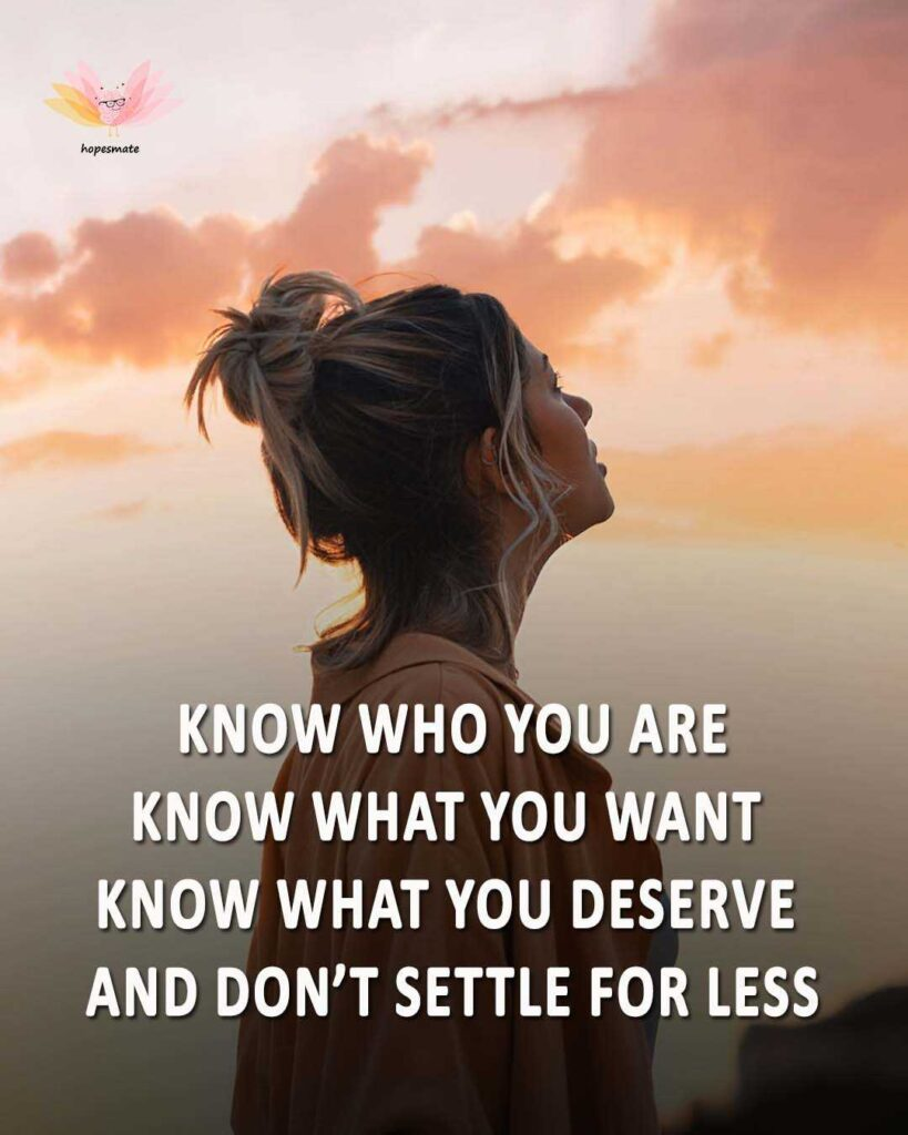 Know your worth- best self-love quotes for girls