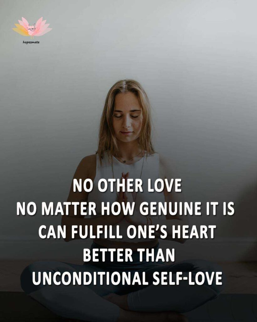 self-love is best -best self-love quotes for girls