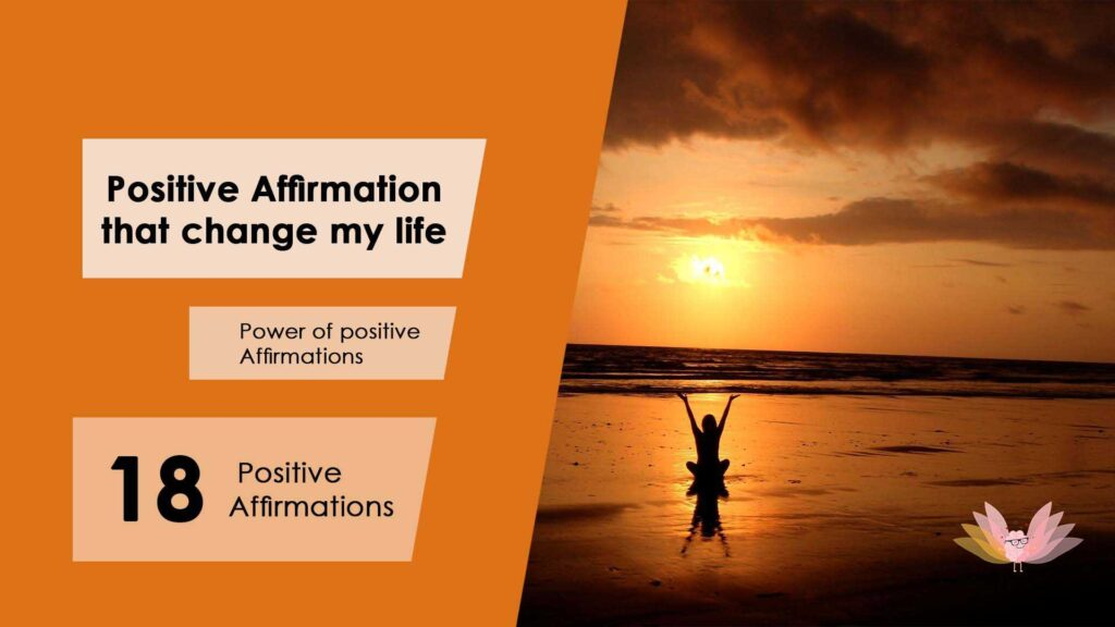 Power of positive affirmations