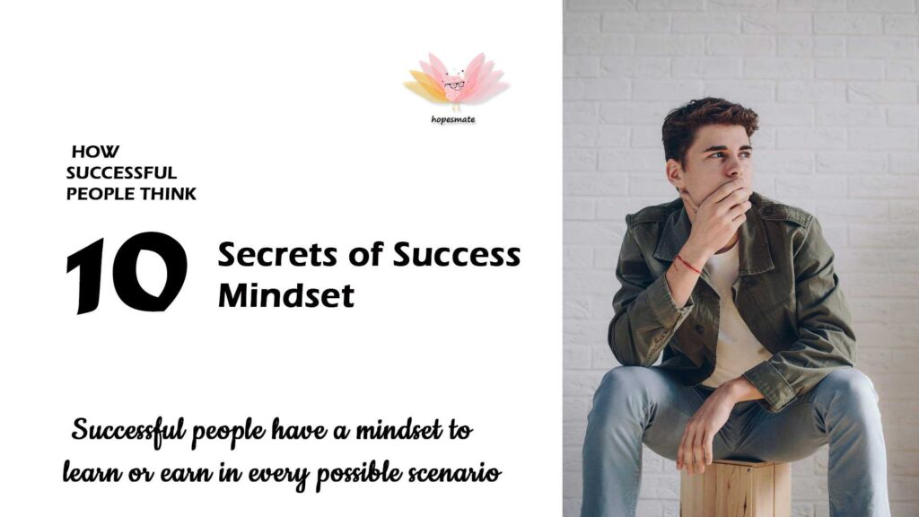 How success people things- top 10 secret of success mindset